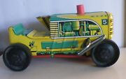 Marx Wind-up Climbing Sparking Tractor 124 5 For Parts