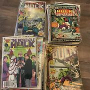 Lot Of 35 Marvel Comics The Incredible Hulk Vintage Dealers Lot 1970andrsquos-80andrsquos
