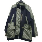 Secondhand Sacai20aw Reconstructed Military Jacket Ghana