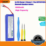 Hixon Replacement Battery For Jbl Charge 2 Charge 2+ Plus Gsp1029102a Speakers
