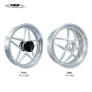 Mos Forged Aluminum Alloy Wheels Rims For Ducati Panigale V4 2018-2021 Silver
