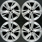 Nissan Altima All Silver 17 Oem Wheel Set 2013 To 2015
