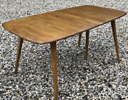 Stunning Ercol Grand Extending Dining Table Mint Condition Delivery Available