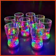 12 Pack 6oz Light Up Cup Led Toys Glow In The Dark Party Favor Supplies For Kids