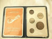 { Bermuda First Decimal Issue 1970 Coins-set Of 5