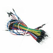 1300pcs=20sets Jump Wire Cable Male To Male Jumper Wire For Breadboard 65 Jump