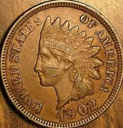 1902 Usa Indian Head Small Cent Coin Penny