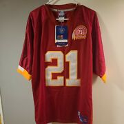 Sean Taylor Washington Redskins 75th Authentic Reebok Jersey Sz 50 With Tags