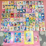 Sailor Moon Goods Summary 98 Cards Puzzle 2boxes Notebook Change In.