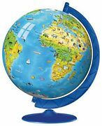 Ravensburger Children's World Globe 180 Piece 3d Jigsaw Puzzle For Kids And Adul