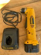 Dewalt Dw965 12v 3/8 Cordless Right Angle Drill With 1 Battery And Charger