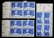 Statue Of Abraham Lincoln 4 Cent Unused Stamp Lot Of 12