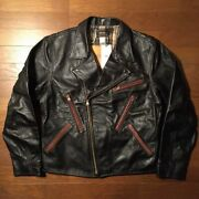 New Unused World Limited Edition 85 Only Rrl 30s Leather Jacket Rare Japan