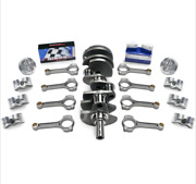 Ford Fits 302-331 Scat Stroker Kit Forgedflatpist. I-beam Rods Forged Crank