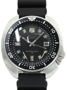 Seiko 6105-8110 2nd Divers Automatic Vintage Black Dial Menand039s Watch Authentic Jp