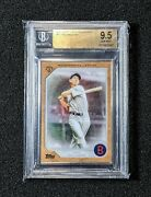2017 Topps Transcendent Collection Ted Williams Silver Frame /87 Bgs 9.5 Red Sox