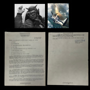 Wwii 1944 Confidential Robert Longley Kia 365th Fighter Group Fw-190 Report