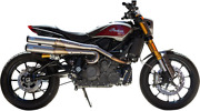 S And S Cycle 550-0950a Grand National 22 High Exhaust System Stainless Steel