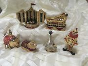 Estee Lauder Solid Perfume Collectibles Circus Collection With Mibb Pieces