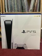 Sony Playstation 5 Ps5 Console Disc Version Brand New In Hand Free Fast Shipping
