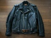 Harley Davidson 50's Vintage Leather Jacket Beck Buco From Japan Used Outerwear