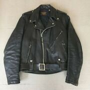 Harley Davidson 50's Vintage Leather Jacket Bell Buco Japan Used Size S Riders