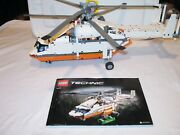 Lego Technic Heavy Lift Helicopter 42052 Power Functions Motorized