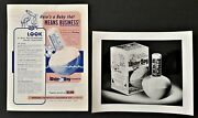 1950s Vintage Donand039t Boil The Baby Ad Child Thermometer Lot Orig Photo Broadside
