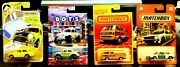 Matchbox Bundle 4 Assorted Years And Models. Free 24h Fedex Delivery