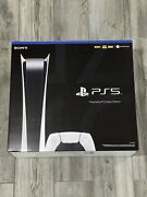 Sony Playstation 5 Ps5 Digital Edition Console -new In Hand ✅ Ships Free Asap ✈️