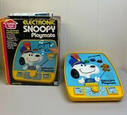 Vintage 1980 Romper Room Snoopy's Electronic Playmate Activity Center