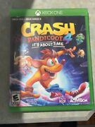 Crash Bandicoot 4 Its About Time Xbox One Used