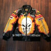 Vanson M Size Beauty Goods Supreme Leather Jacket 2019ss Skull Menand039s Fire Japan