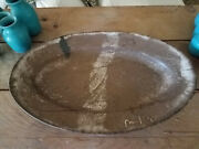 Just In Time For The Holidays Mccarty / Mccartys Pottery Platter Mississippi