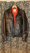 Lewis Leathers Dominator Single Riders Size 38 Aviakit Made In England Black