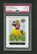 2005 Topps Aaron Rodgers Rookie Card  431. Psa 10. Perfectly Centered.