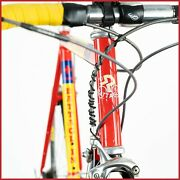 Battaglin Amica Chips Team Bike Shimano Dura Ace 9s Speed Speed Road Vintage Old