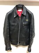 Lewis Leathers Dominator Leather Jacket 666 Size 34 Regular Fit Collection Japan