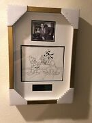 Disney Animation Producttion Drawing Of Goofy