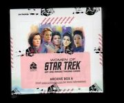 2021 Women Of Star Trek Art And Images Sealed Archive Box A And B