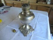 Vintage Aladdin Type Lamp Base Made In U.s. Of America Lot 21-84-15