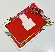 2021 Immaculate Collegiate Justin Fields Jumbo Patch /10 Rookie Bears Ohio State