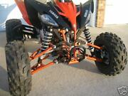 Yamaha Raptor 250 A-arms And Shocks Widening Kit +4.5 Or +6 Inches Wider