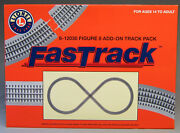 Lionel Fastrack Lot Figure 8 Track Pack Add On 3 Rail Layout Train Fast 6-12030