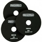 Rockwell Rw9119.3 Sonicrafter 3-1/8 Hss Circle Blades