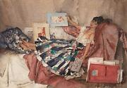 William Russell Flint The Red Portfolio Figurative Art Unsigned Released 2009
