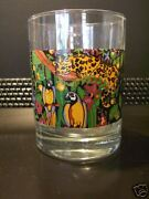 Vitromaster Rain Forest Old Fashioned Glasses Matches Dinnerware Set Of Four