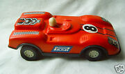 Vintage Old Plastic Toy Car Made In Russia Ussr