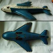 Old Toy Tin Metal Ussr 1950s Space Shuttle Mechanism