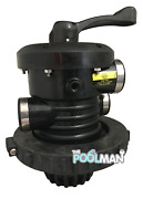 Waterway Plastics Swimming Pool Sand Filter Valve Wvs003 With O-ring And Nut